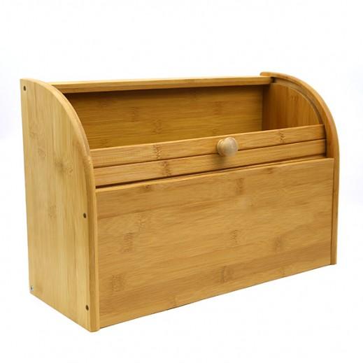 صندوق خشبي كبير لحفظ الخبز