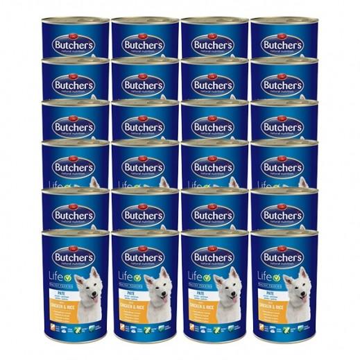 وتشرز ناتشرال نوترشن – طعام الكلاب بالدجاج والأرز 24×390 جم - أسعار الجملة
