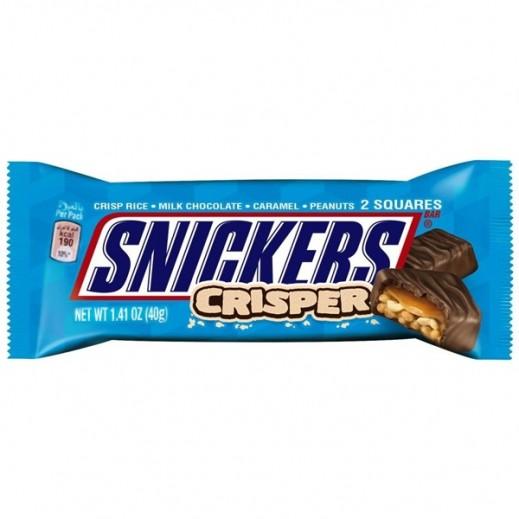 سنيكرز - شوكولاته كريسبر 40 جرام