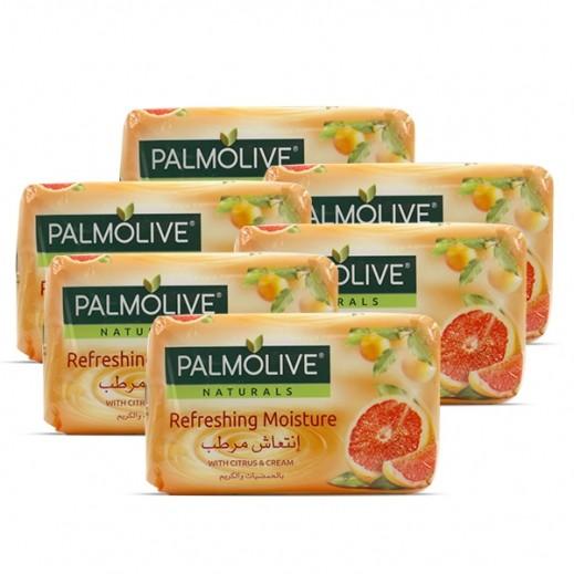 بالموليڤ – صابون متوازن وناعم بخلاصة الحمضيات والكريم 6 × 120 جم