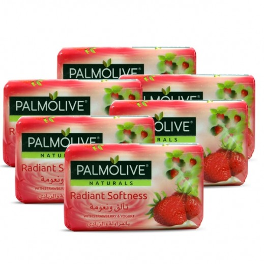 بالموليڤ – صابون بخلاصة الزبادي والفواكه 6 × 120 جم