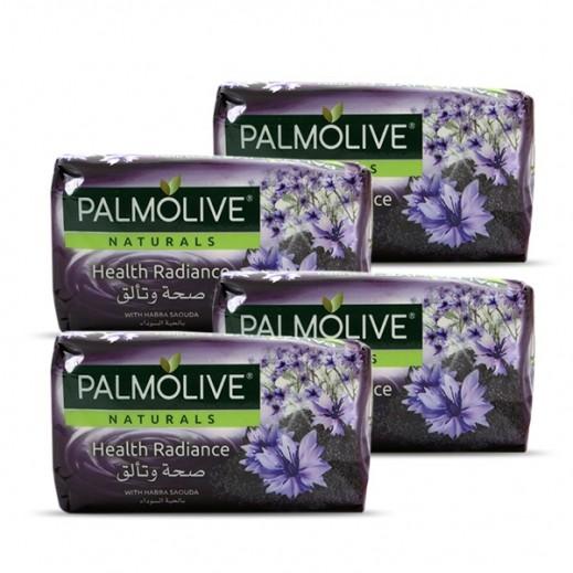بالموليڤ – صابون صحة وتألق بالحبة السوداء 4 × 170 جم