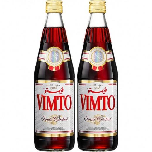 فيمتو – شراب مركز بنكهة الفواكة الطبيعية 2 × 710 مل)