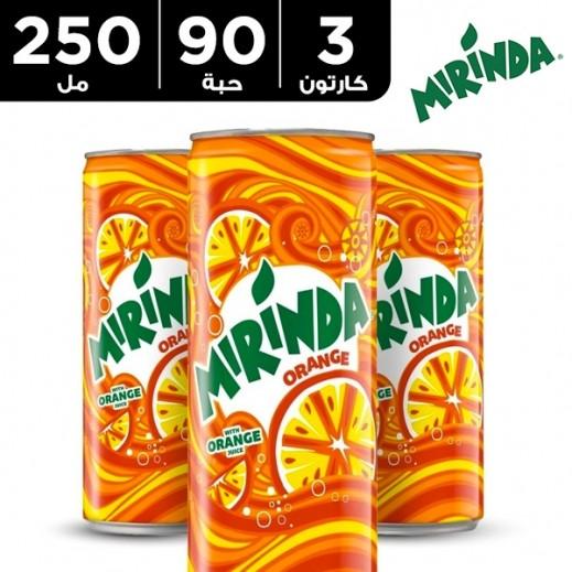 ميريندا – شراب البرتقال 250 مل ( 3 كرتون × 30 حبة )