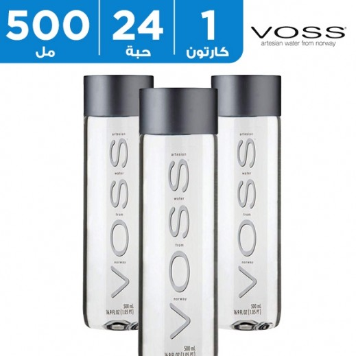 فوس - مياه شرب غير فوارة 24 × 500 مل