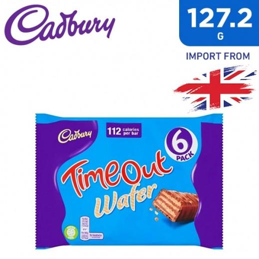 كادبوري - شوكولاته ويفر تايم أوت 127.2 جم
