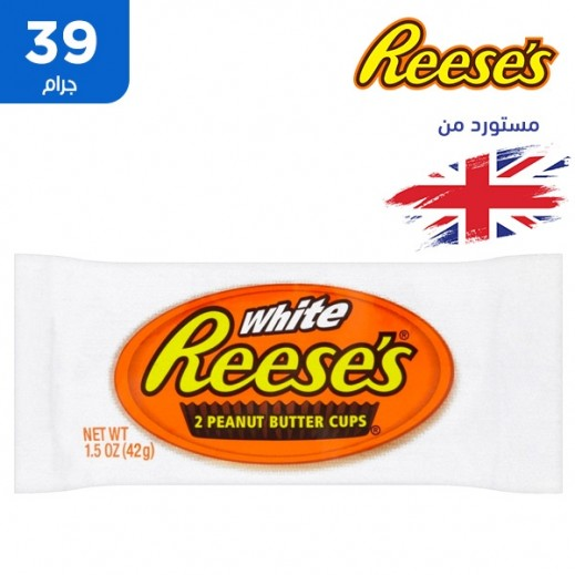 ريسز – شوكولاتة بالحليب وزبدة الفول السوداني كاس 39 جم