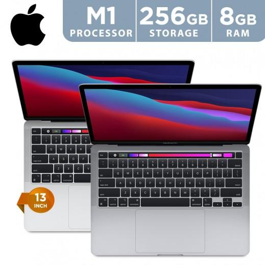 ابل - ماك بوك برو شاشة 13 بوصة 8 جيجابايت M1 chip 8-C CPU لابتوب  - يتم التوصيل بواسطة شركة توصيل في يوم العمل التالي