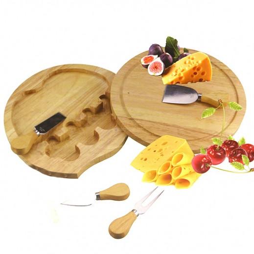 فان تري - طقم أدوات الجبنة الخشبي - 5 حبة