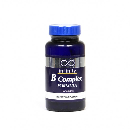 انفنيتي – مكمل غذائي فيتامين B المركب - 100 كبسولة