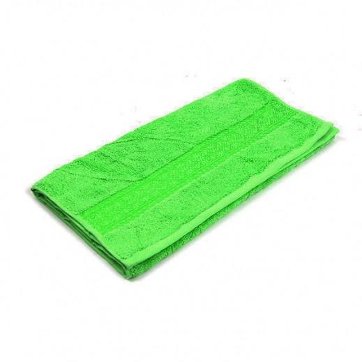 فيلدكرست - منشفة مطرزة لليد - لون أخضر 41x66 سم
