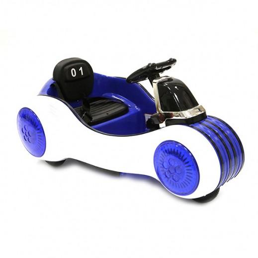 سيارة الكترونية - أزرق - يتم التوصيل بواسطة كليك تويز خلال 2 أيام عمل
