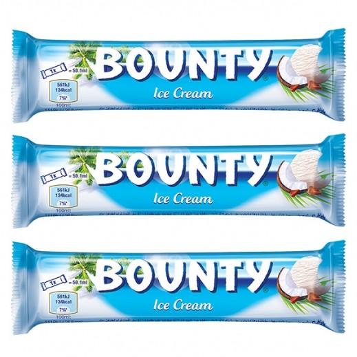 باونتي - آيس كريم 50 مل (3 حبة)