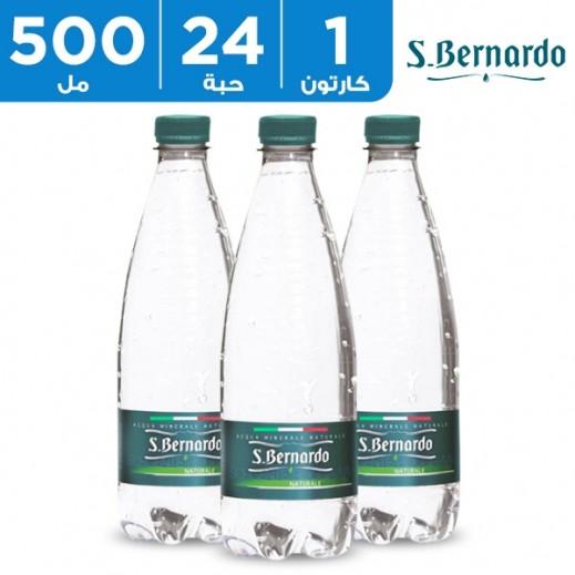 سان برناردو مياه معدنية طبيعية 24 × 500  مل