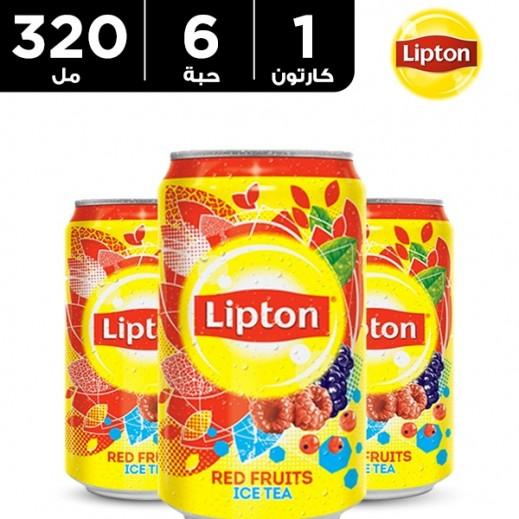 ليبتون - شاي مثلج بالتوت المشكل 320 مل × 6 حبة