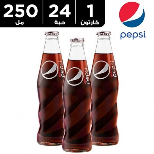 بيبسي دايت – مشروب غازي 250 مل ( 24 حبة )
