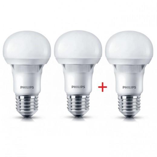 فيليبس – لمبة E27 لون اصفر 3000K بقوة 7 واط ESS LED – عرض 2 + 1 مجاناً