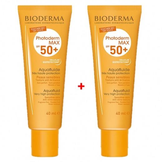 بايوديرما – بايوديرما – سائل الحماية من أشعة الشمس SPF50 عبوة 40 مل (1+1 مجانا) عرض خاص