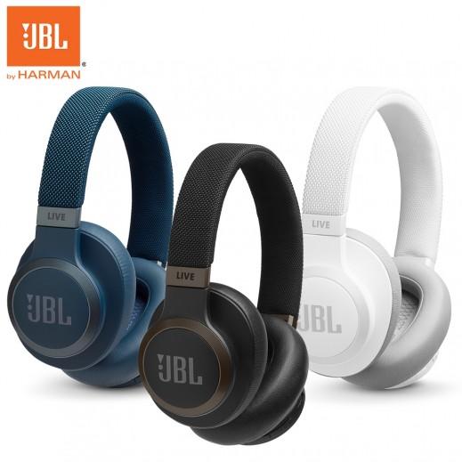 جي بي ال - سماعات رأس فوق الأذن لاسلكية تلغي الضوضاء Live 650BTNC