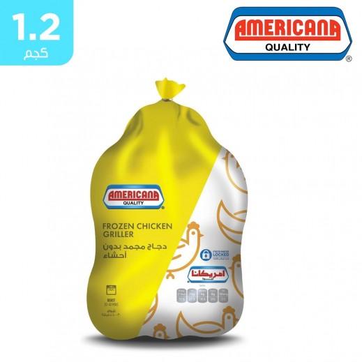 أمريكانا - دجاج مجمد كامل بدون أحشاء 1.2 كجم