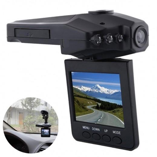 داش كام برو - كاميرا فيديو DVR للسيارة HD قابلة للحمل – أسود