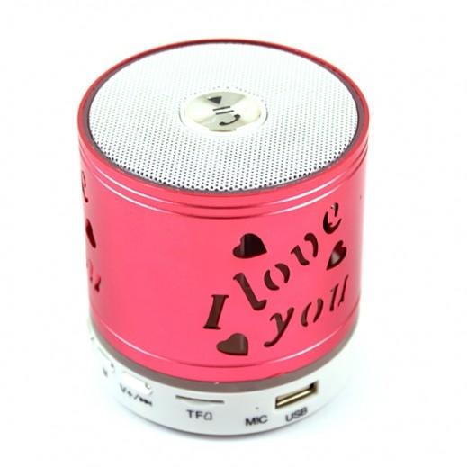 Music Mini Wireless Speaker - Red