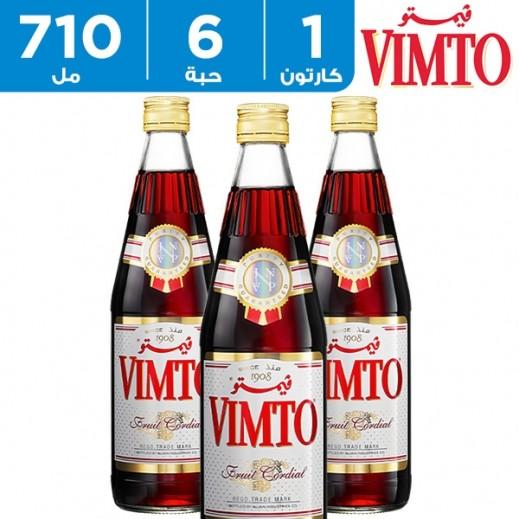 فيمتو – شراب مركز بنكهة الفواكة الطبيعية 6 حبة × 710 مل – عرض التوفير