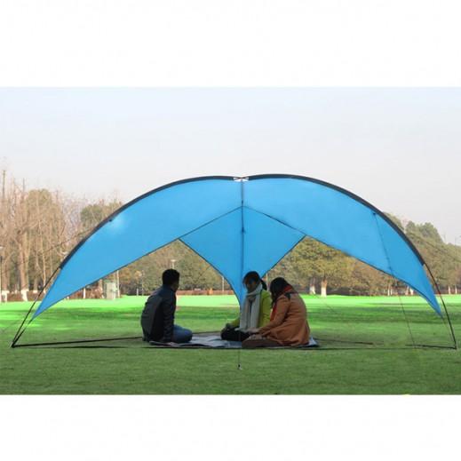 خيمة صيني كبيرة سريعة التركيب للمخيمات والبر (480 × 480 × 200 سم)