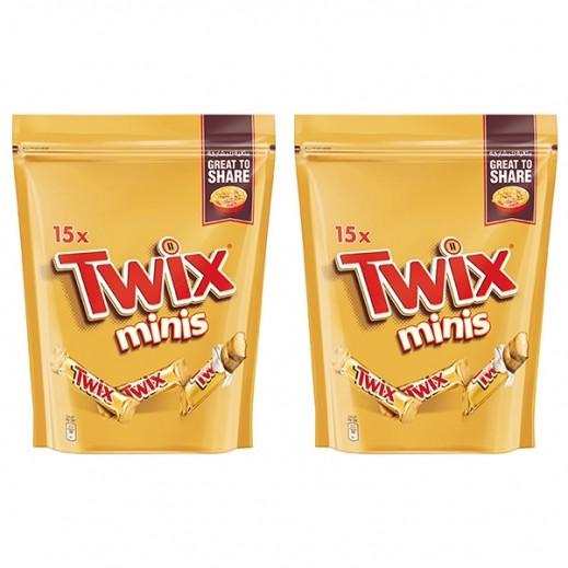 تويكس - شوكولاته مينيز 2×300 جم - عرض خاص