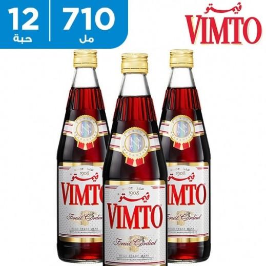 فيمتو – شراب مركز بنكهة الفواكة الطبيعية 12 × 710 مل