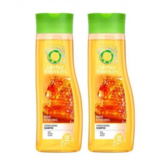 هيربل إيسنسز  - شامبو للشعر التالف بقوة العسل 2×400 مل (30% خصم)