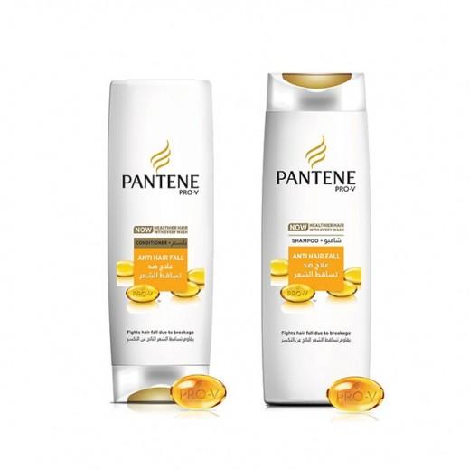 بانتين – شامبو لعلاج تساقط الشعر 400 مل + بلسم لعلاج تساقط الشعر 360 مل