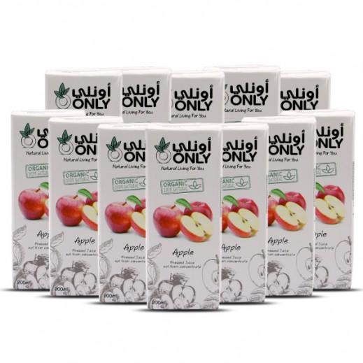أونلي - عصير التفاح العضوي 27 × 200 مل