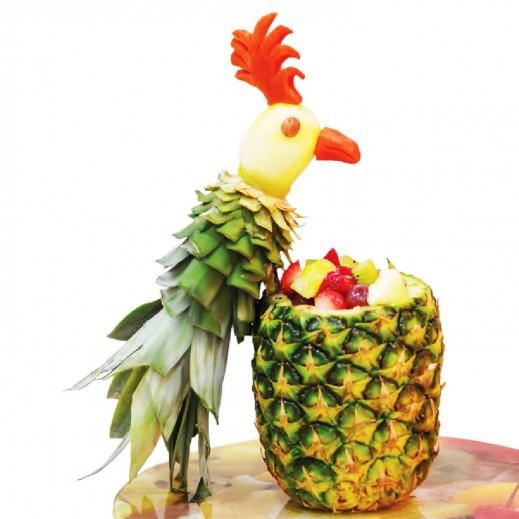 باقة الأناناس - يتم التوصيل بواسطة Fruit Art