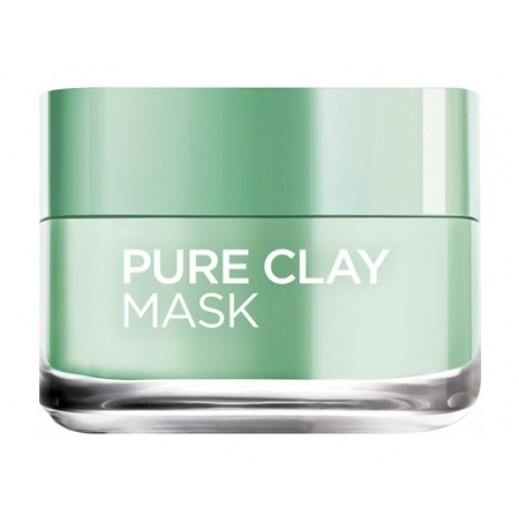 L'Oreal Eucalyptus Pure Clay Face Mask 50 ml