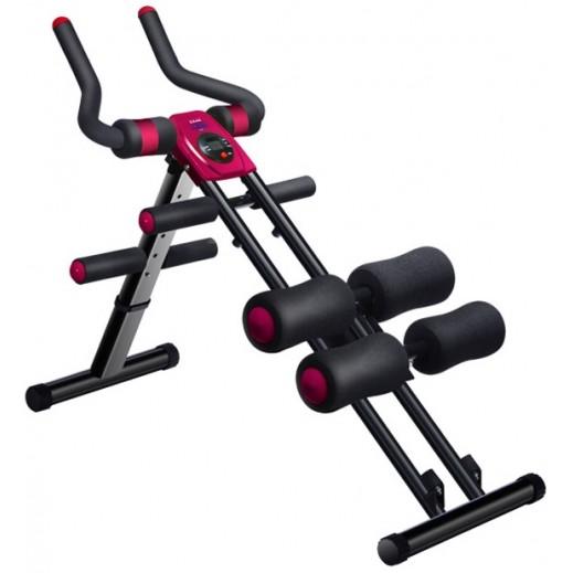 باور فيت – جهاز التمارين الرياضية 11 في 1 لتشكيل عضلات البطن والجسم – أحمر - يتم التوصيل بواسطة النصر الرياضي خلال 3 أيام عمل