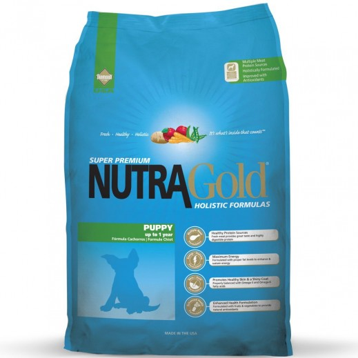 نوترا جولد – طعام الكلاب الصغيرة وجبة غذائية كاملة 3 كجم