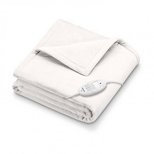بيورير – بطانية تدفئة حرارية موديل - أبيض HD 75