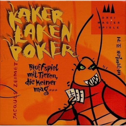 لعبة Cockroach Poker الورقية