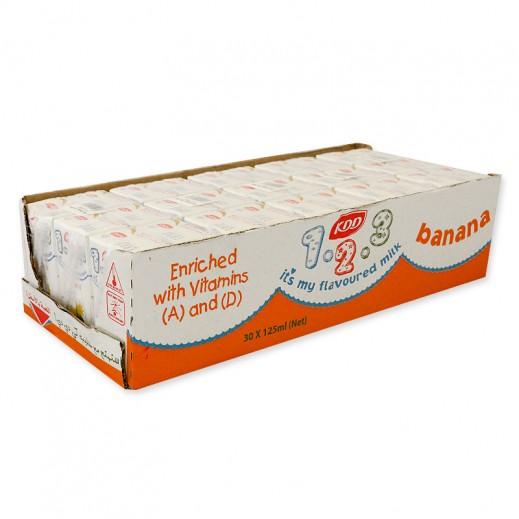 كى دى دى – حليب بنكهة الموز 125 مل ( 30 حبة )