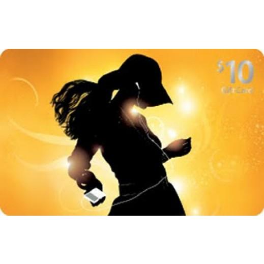 آي تونز - بطاقة تعبئة بقيمة 10 دولار