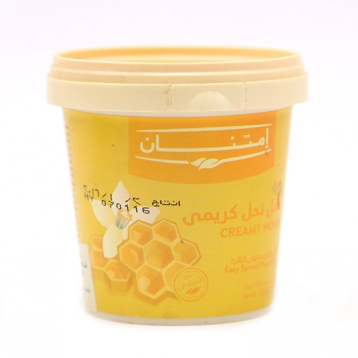 إمتنان – عسل نحل كريمي طبيعي 225 جم