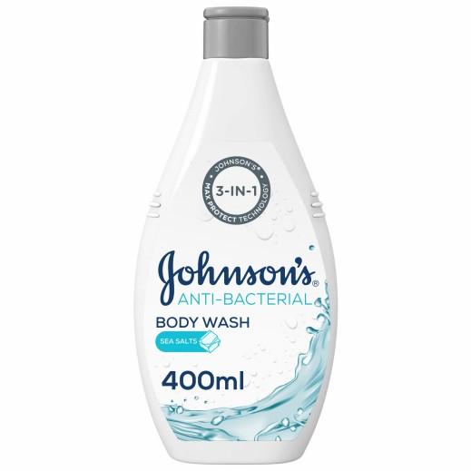 جونسون - سائل إستحمام مضاد للبكتريا بملح البحر 400 مل