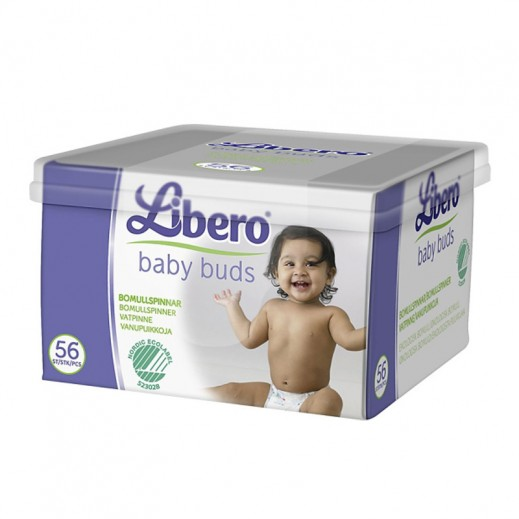 ليبرو – أعواد قطنية للأطفال – 56 حبة