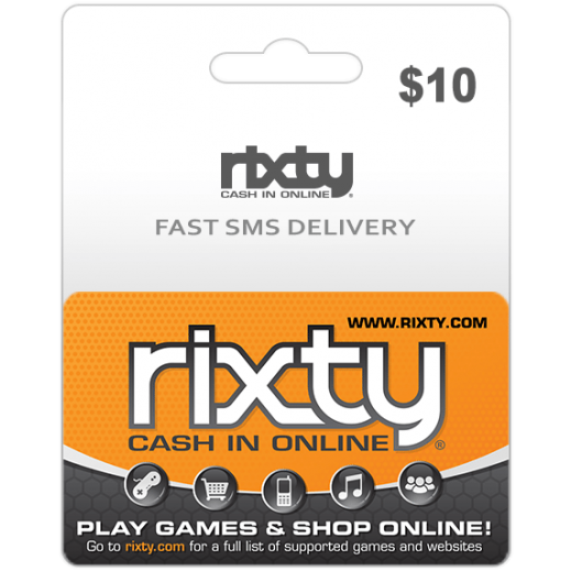 Rixty $10 - Delivery by E-mail