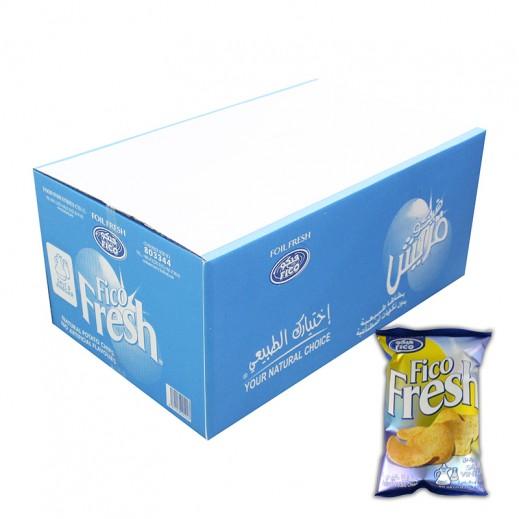 فيكو فريش - طعم الملح والخل 18 × 80 جم
