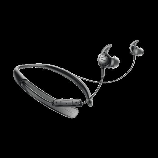 """بوز – سماعة أذن لاسلكية """"كوايت كومفورت 30"""" – أسود - يتم التوصيل بواسطة aDawliah Electronics"""