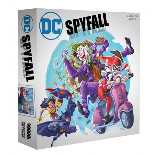 لعبة  DC Spyfall الورقية