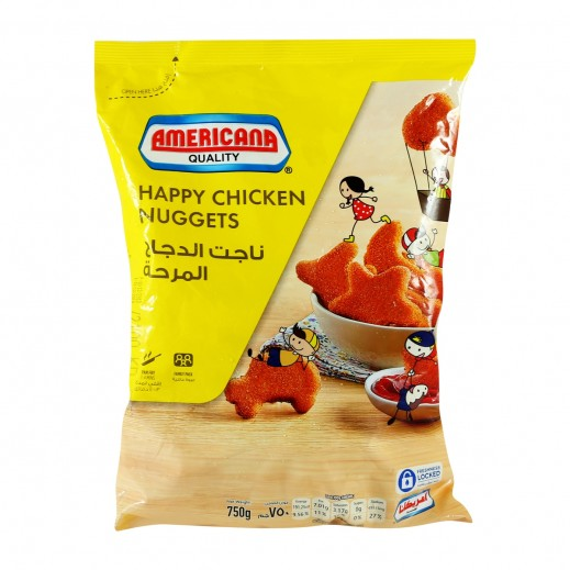 أمريكانا - ناجتس الدجاج المرحة 750 جم