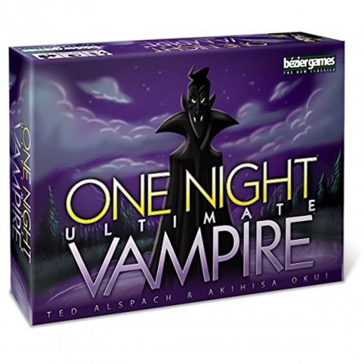 لعبة One Night Ultimate Vampire الورقية